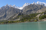 D-2 Ataabad lake & view of  Ultar & Gulmit Towers
